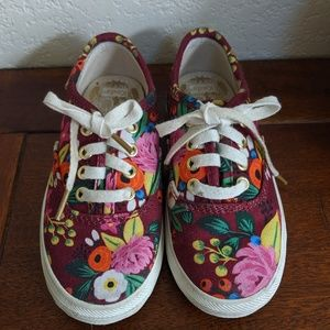 Keds toddler Rifle Paper Co. Size 8